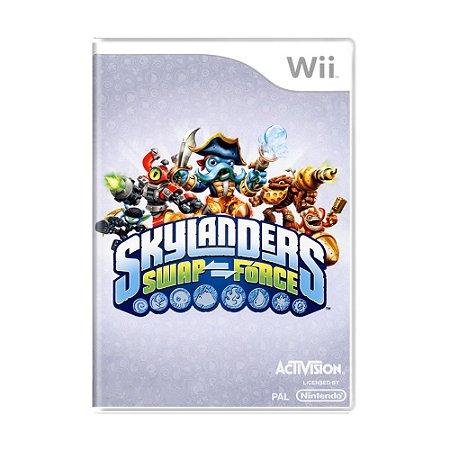 Jogo Skylanders Swap Force - Wii