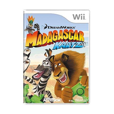 Jogo Madagascar Kartz - Wii
