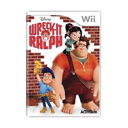 Jogo Wreck-it Ralph - Wii