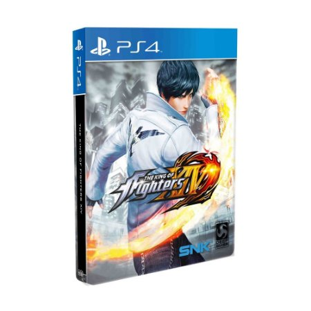 Jogo The King of Fighters XIV (Steelbook Edition) - PS4