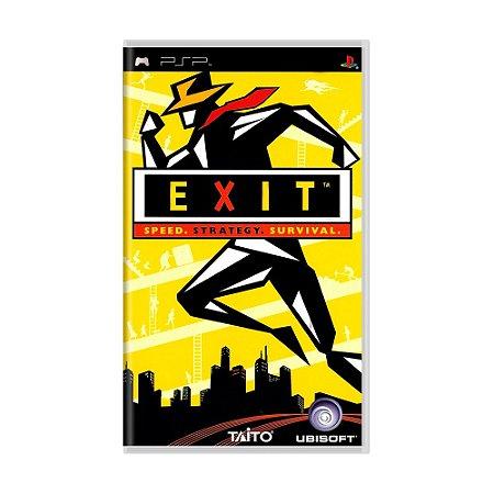 Jogo Exit - PSP