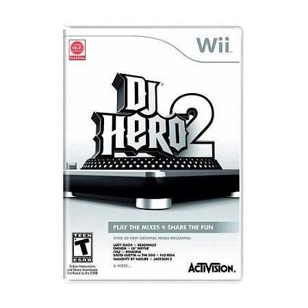 Jogo DJ Hero 2 - Wii