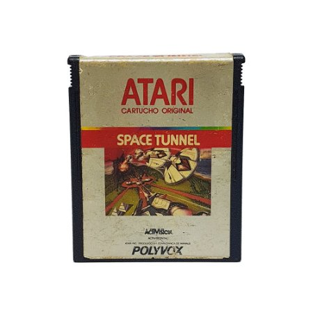 Jogo Space Tunnel - Atari