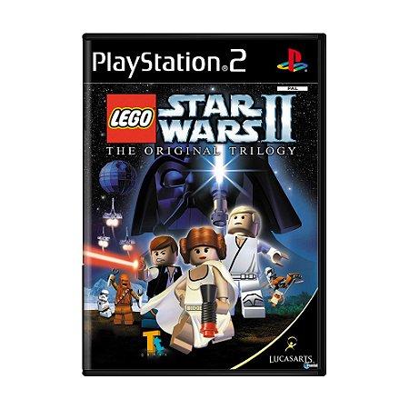 Jogo Lego Star Wars II: The Original Trilogy - PS2