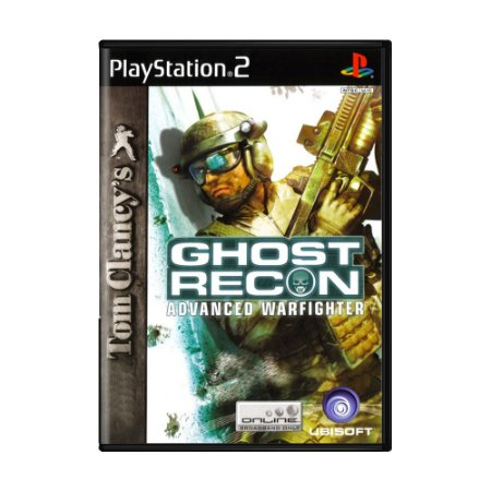 Jogo Ghost Recon: Advanced Warfighter - PS2