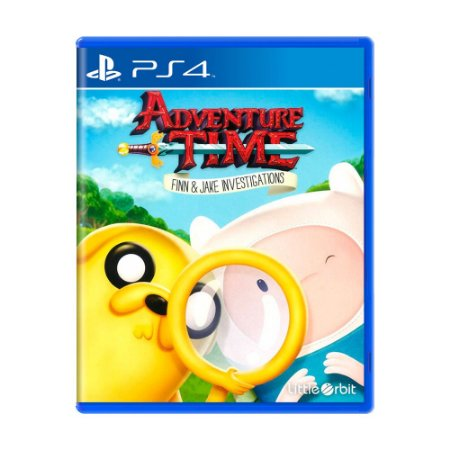 Jogo Adventure Time: Finn & Jake Investigations - PS4