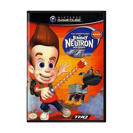 Jogo The Adventures of Jimmy Neutron: Jet Fusion - GC - GameCube