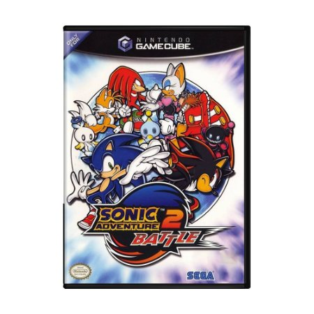 Jogo Sonic Adventure 2 Battle - GC - GameCube