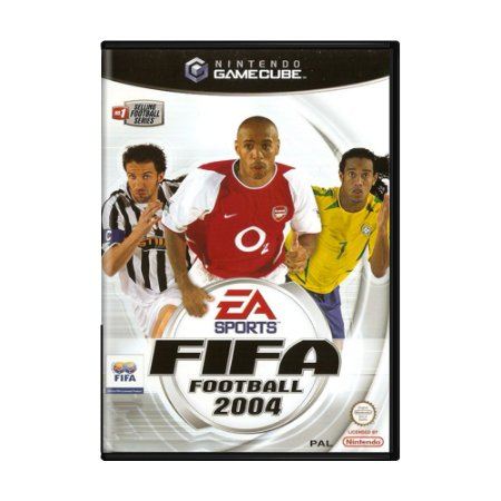 Jogo Fifa Soccer 2004 - GC - GameCube