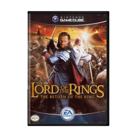 Jogo The Lords of the Rings: The Return  - GC - GameCube