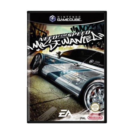 Jogo Need for Speed Most Wanted - GC - GameCube