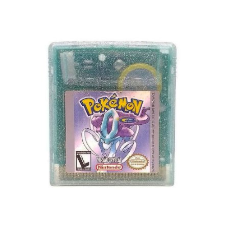 Jogo Pokémon Crystal Version - GBC