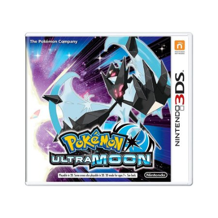 Jogo Pokémon: Ultra Moon Version - 3DS