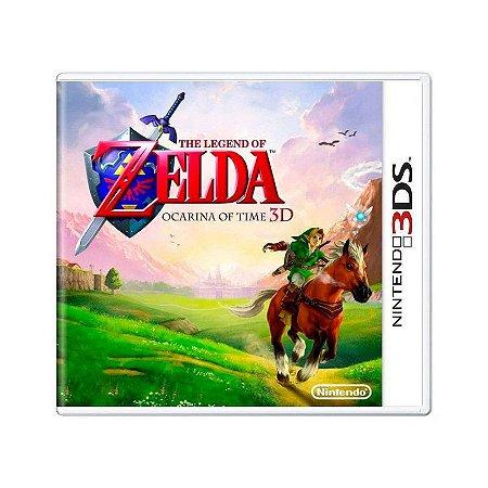 Jogo The Legend of Zelda: Ocarina of Time 3D - 3DS