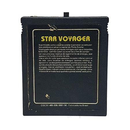 Jogo Star Voyager & Mouse Trap - Atari