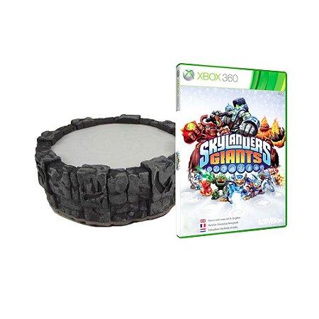 Portal do Poder Skylanders Giants + Jogo Skylanders Giants - Xbox 360
