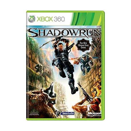 Jogo Shadowrun - Xbox 360