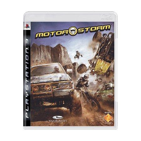 Jogo MotorStorm - PS3