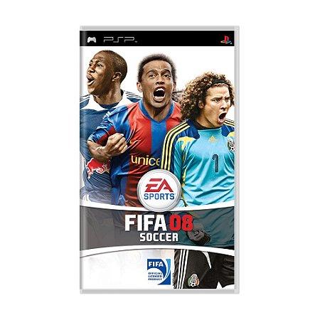 Jogo FIFA Soccer 08 - PSP