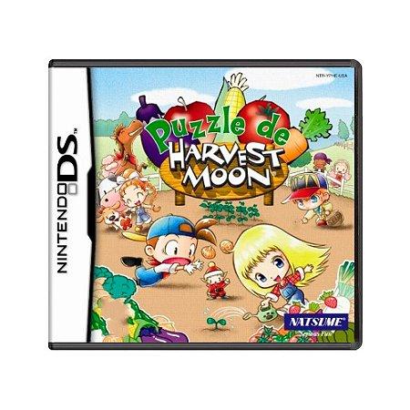 Jogo Puzzle de Harvest Moon - DS
