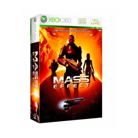 Jogo Mass Effect (Limited Collector's Edition)  - Xbox 360