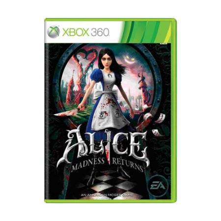 Jogo Alice Madness Returns - Xbox 360