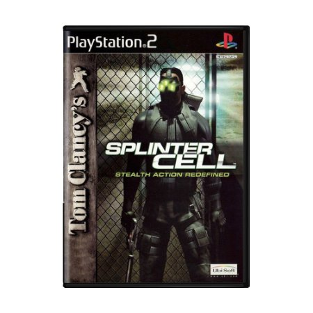 Jogo Tom Clancy's Splinter Cell: Stealth Action Redefined - PS2