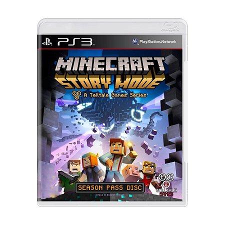 Jogo Minecraft: Story Mode - PS3