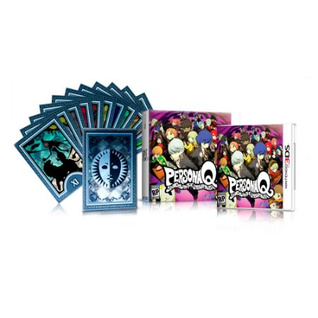 Jogo Persona Q: Shadow of the Labyrinth + Cartas de Tarot - 3DS