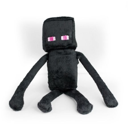 Boneco de pelúcia ZR Toys Minecraft: Enderman
