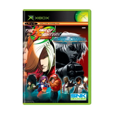 Jogo The King of Fighters 02/03 - Xbox