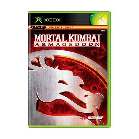 Jogo Mortal kombat Armageddon - Xbox