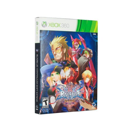 Jogo Blazblue Continuum shift extend (Limited Edition) - Xbox 360