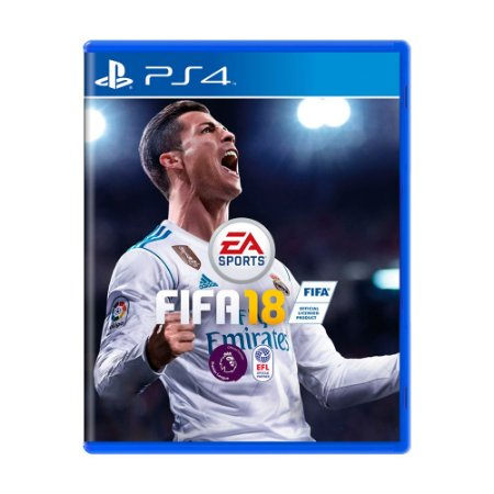 Jogo Fifa 18 (FIFA 2018) - PS4