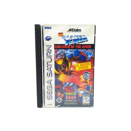 Jogo X-Men Children of Atom - Sega Saturn