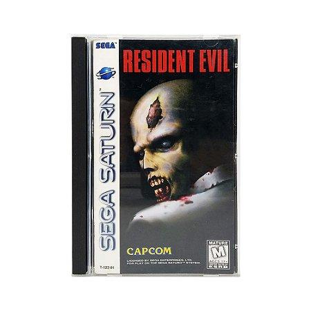 Jogo Resident Evil - Sega Saturn