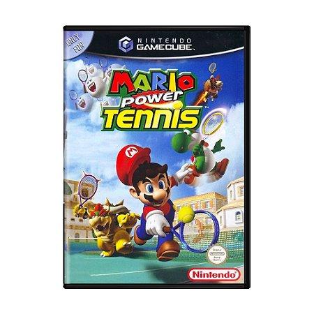 Jogo Super Mario Power Tennis - GC - GameCube