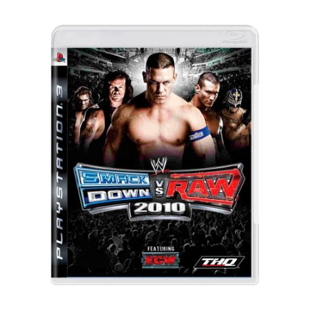 Jogo WWE SmackDown! vs Raw 2010 - PS3