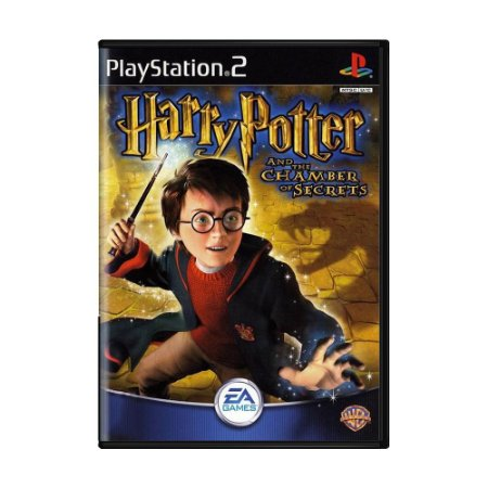 Jogo Harry Potter and the Chamber of Secrets - PS2