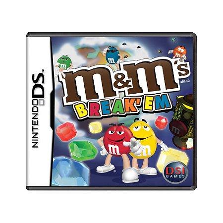 Jogo M&M's Break' Em - DS