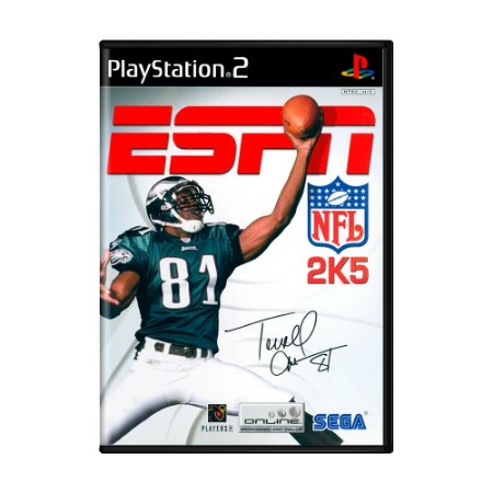Jogo ESPN NFL 2K5 - PS2