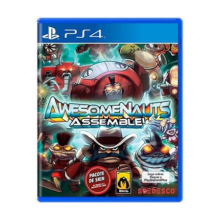 Jogo Awesomenauts Assemble! - PS4
