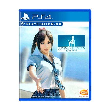 Jogo Summer Lesson: Hikari Miyamoto - PS4