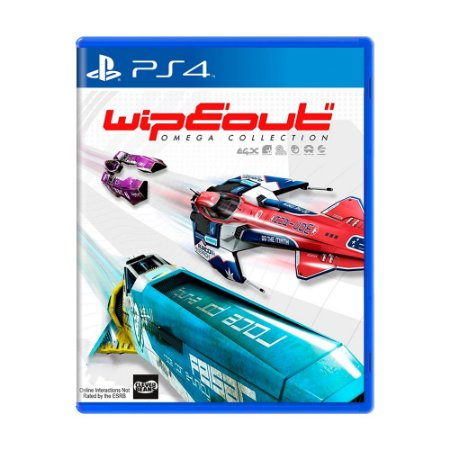 Jogo WipEout Omega Collection Game - PS4