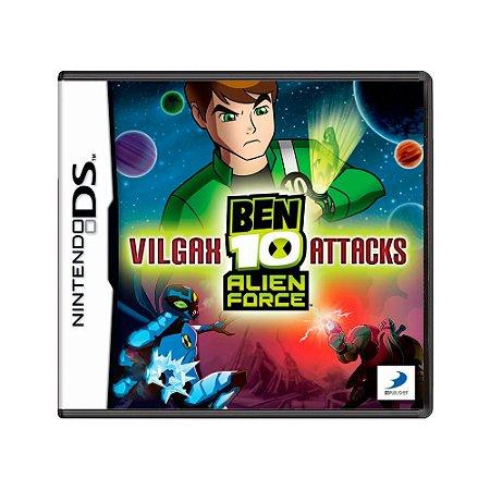 Jogo Ben 10: Alien Force Vilgax Attacks - DS