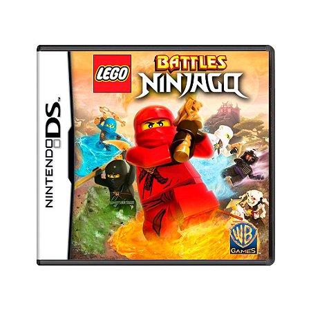 Jogo LEGO Battles Ninjago - DS