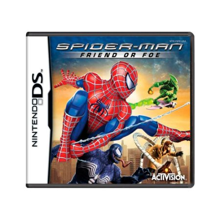 Jogo Spider-man: Friend or Foe - DS