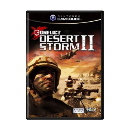 Jogo Conflict Desert Storm II - GameCube