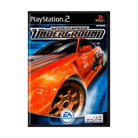 Jogo Need for Speed Underground - PS2