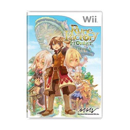 Jogo Rune Factory: Frontier - Wii